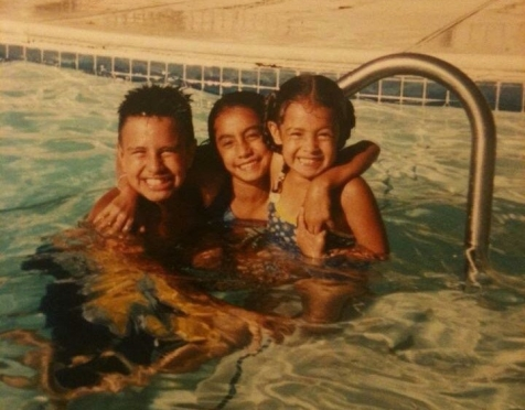 Joe, Allie & Juliana - family vacay.