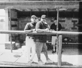 Dad & Joe Baseball days